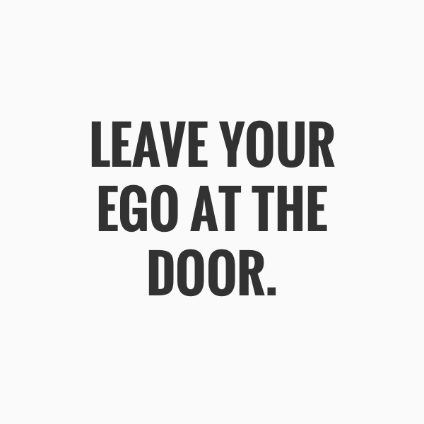 per creare corsi microlearning leave your ego at the door