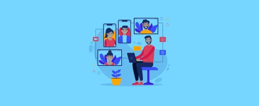 10 consigli per gestire e formare con successo il tuo team che lavora da remoto, con la videoconferenza.